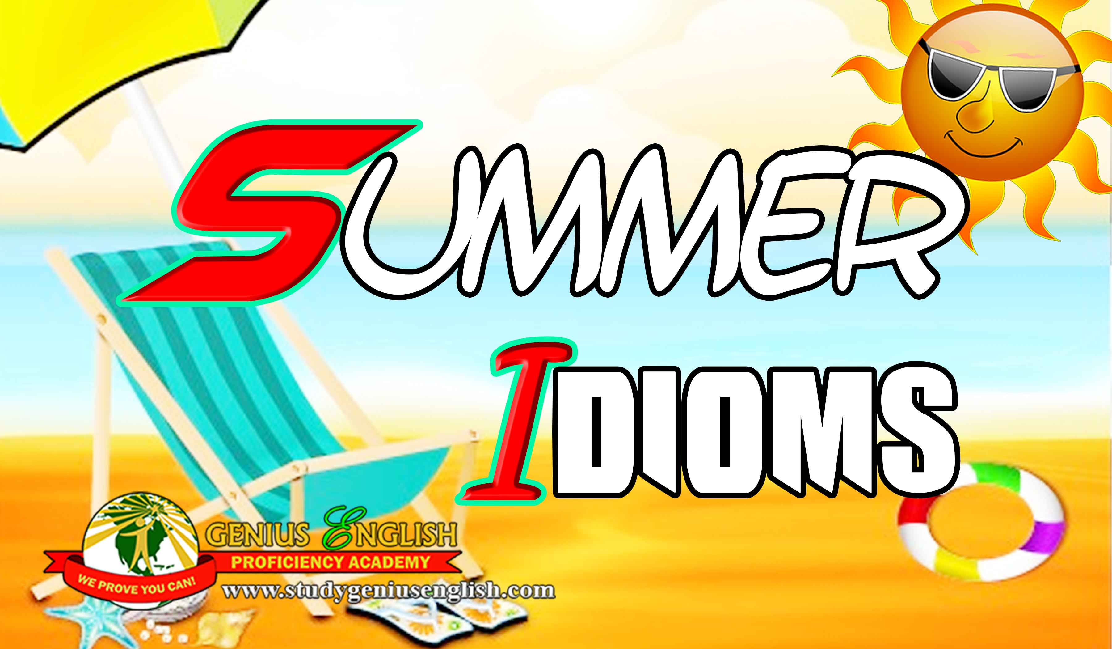 idioms for summer - study english in the Philippines