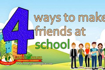 how to make friends at school