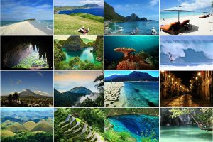 Vacation places in the Philippines