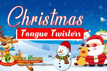 Tongue twisters related to Christmas