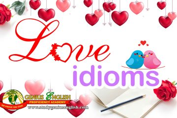 list of idioms related to love
