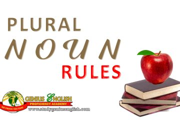 Rules of plural nouns