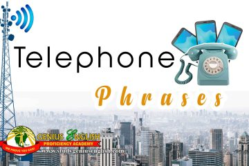 Phrases related to telephone