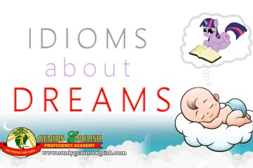 List of idioms about dreams