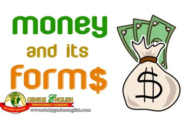 different forms of money