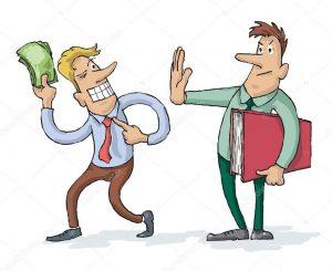 money bribery