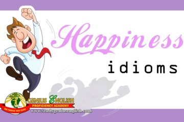 Examples of Idioms related to happiness