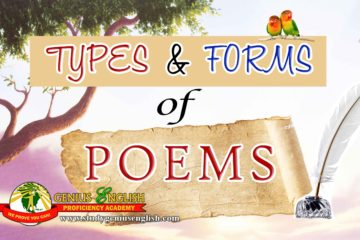 poem types and forms