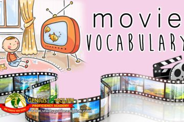 vocabulary about movie
