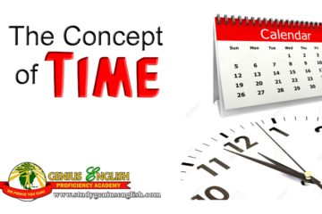 time concept and examples