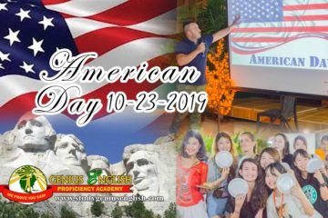 American Day celebration 2019 English School Genius